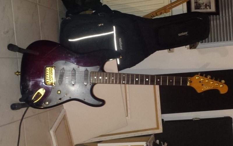 Chevy Stratocaster Custom